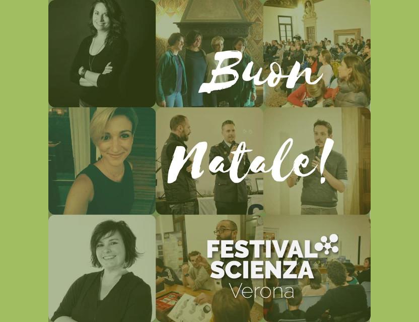 Auguri dal team del Festival della Scienza Verona