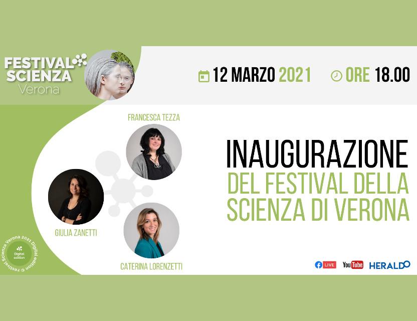 Inaugurazione Festival Scienza Verona 2021