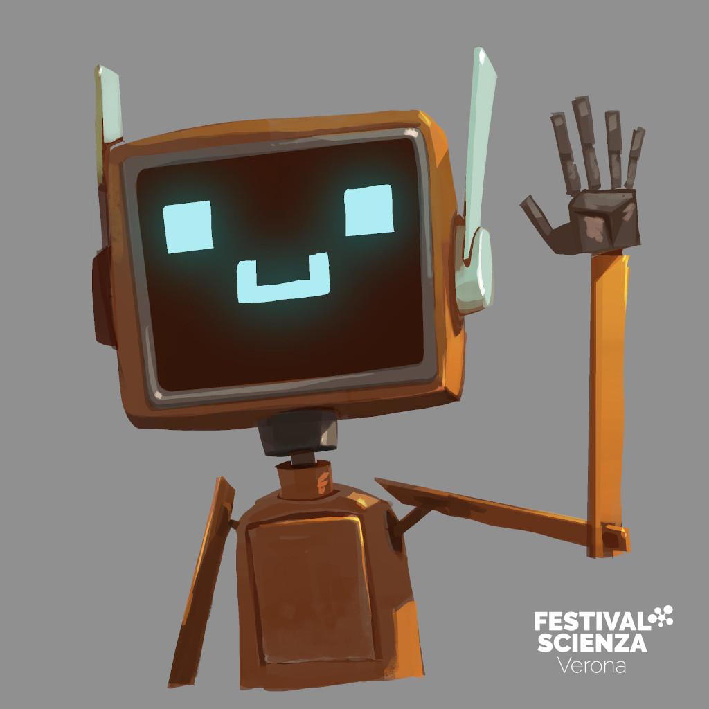 """Saluti da N3well, protagonista di """"The AI Issue"""" della collana di Comics&Science dedicata all'Intelligenza Artificiale"""